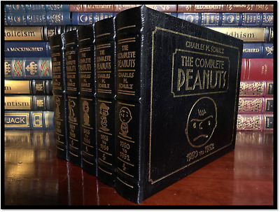 The Complete Peanuts 1950-60 by Charles Schulz Easton Press Leather Bound Gift