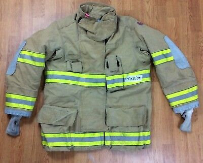 Globe G-Xtreme Fire Fighter Jacket Turnout Coat w/ DRD 42 x 32 '08
