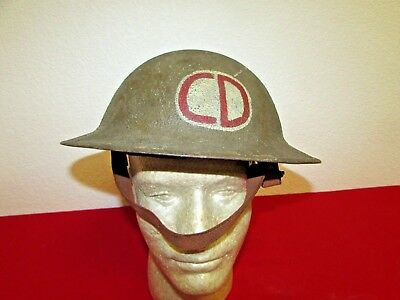 WWI US Army 85th Infantry Division Painted Helmet