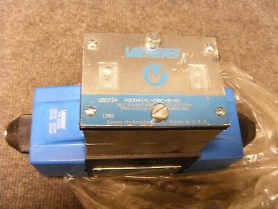 Vickers 120V Solenoid 4 way 3 position Hydraulic Valve Cat No PBDG4S4L-016C-B-60