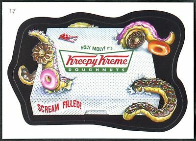 Kreepy Kreme #17 Wacky Packages Series 7 Topps 2010 Sticker Trade Card (C1770)