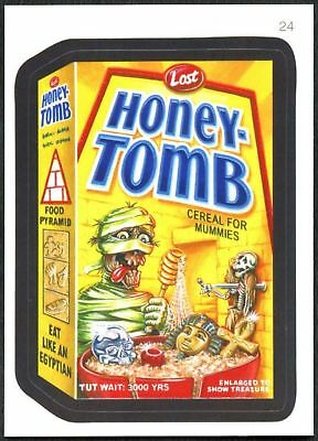 Honey-Tomb #24 Wacky Packages Series 7 Topps 2010 Sticker Trade Card (C1770)