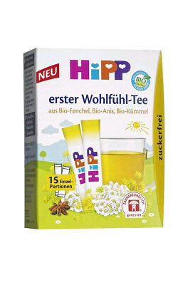 Hipp Baby Fennel Anise & Caraway Tea x15 Healthy drink for babies
