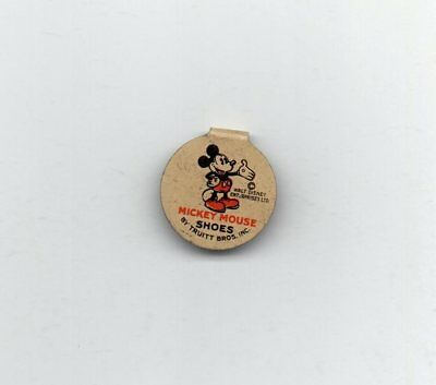 """Vintage1930's MICKEY MOUSE  Celluloid Clipback Buttons 3/4"""" See Below"""