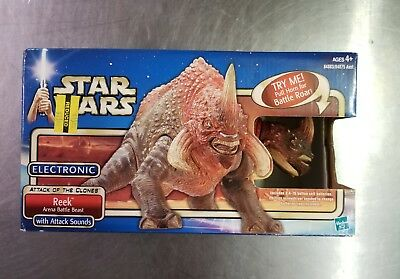Star Wars Attack Of The Clones Reek Arena Battle Beast Hasbro 2002