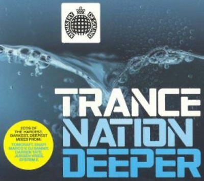 TRANCE NATION DEEPER various (2X CD, mixed, 2003) ministry of sound, very good