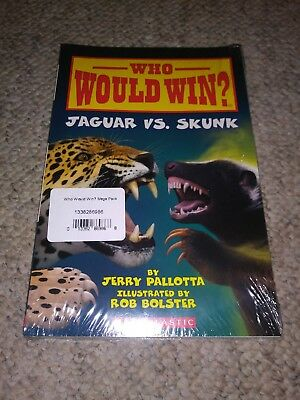 14 Book Set Lot - Who Would Win? Series by Jerry Pallotta - Brand New Sealed