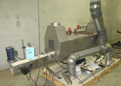 Shrink Sleeve Steam Tunnel with Conveyor for Sleeve Labels, Neck Bands, Sleever