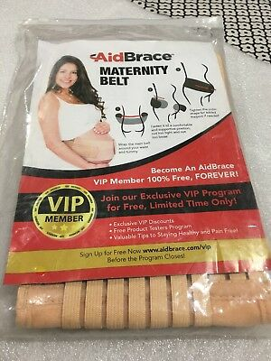 AidBrace Maternity Support Belt Beige