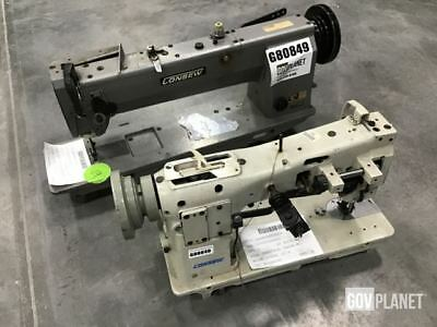 Lot of (2) Consew Sewing Machines