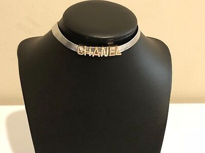 New Chanel VIP GIFT choker necklace