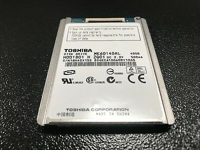 Toshiba MK6036GAL 60Gb 1.8 4200rpm Hard Disk Drive for Camcorders