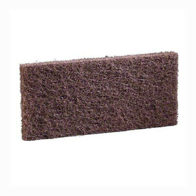 "(5) 3M Niagara 8541N Brown Utility Pads 4-5/8""x10"" wax finish baseboard cleaning"