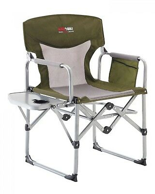 NEW Blackwolf Camping  Compact Directors Chair Khaki - Camping Chairs & Beds -