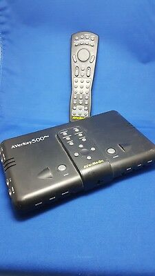 Avermedia Averkey 500 Pro PC/Mac-To-TV Converter with Remote Mouse 1280X1024