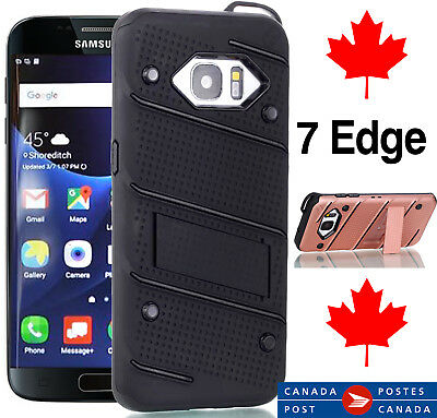 Case for samsung galaxy 7 edge - Heavy Duty Armour - Kickstand -Fast Shipping