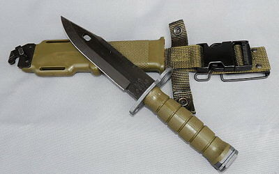 NEW Military M-9 Tri Technologies With Scabbard - SEALED PACKAGE NIB