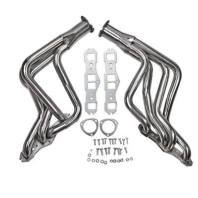 Long Tube SS Performance Headers Fits Olds Cutlass Delta 65-74 350 400 455 V8