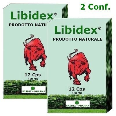 Sex pills pillola Libidex erezione immediata pene natura 24 pillole