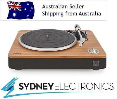 House Of Marley Stir It Up Bamboo Black Turntable/ Vinyl Record Player/ USB- PC