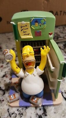 The Simpsons Oh Cruel Fate Homer Sculpture Figurine In Very Good Condition