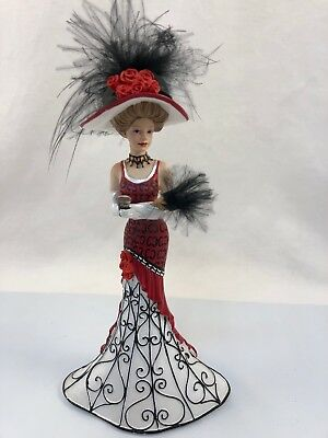 COCA-COLA A Sweet Time Of Grace Victorian Beauties Hand-Painted Fig. Bradford Ex