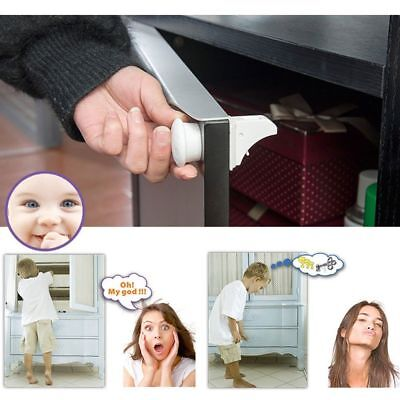 Magnetic Baby Child Cupboard Safety Locks Childproof Magnetic Locking System