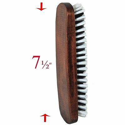 Smartek SC-BR35 Solid Wood Clothes Brush with Soft, Sturdy Bristles and a Handy