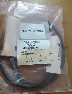 National Instruments 763507B-01 Type X2 1-Meter GPIB Cable (BR2.3B14)
