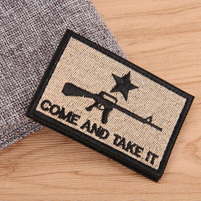 9DB1 Tactical 3D Flag Embroidery Arm Patch Badge Army Morale Hunting Armband