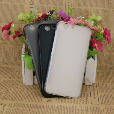 Soft Silicone Gel TPU Back Matte Protector Case Cover For ZTE Blade A512