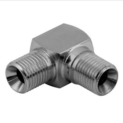 Hydraulic Bspp Male X Male Compact 90 Degree Elbow 60 Degree Cone (Pk Of 2)