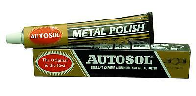 Autosol Solvol Chrome Polish Aluminium & Metal Paste Polish Car Motorcycle