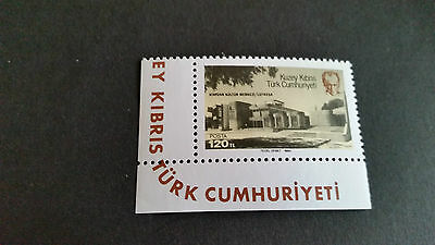 Turkish Cyprus 1984 Sg 153 Opening Of Culural Centre Mnh