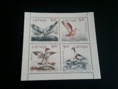 Latvia Birds  Mnh (G)