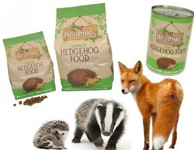 Brambles Hedgehog Food Complete Healthy Crunchy Diet Mix also for Badgers & Foxs
