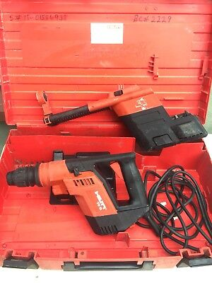 HILTI Rotary Hammer Drill TE 5 Corded Electric Drill w/Dust Removal System Bit