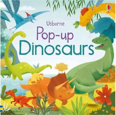 Pop-Up Dinosaurs by Fiona Watt 9781409550334 (Board book, 2016)