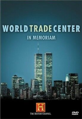WORLD TRADE CENTER IN MEMORIAM New Sealed DVD History Channel 9/11