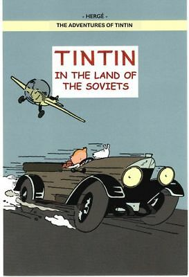 Vintage Tintin Magazine City of the Future Poster A3//A4 Print