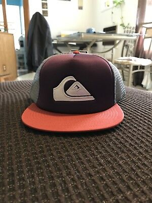 c32bb5530 TWO QUICKSILVER HAT | Brand New | One Size Snap On
