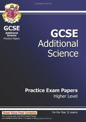 GCSE Additional Science Practice Papers - Higher By CGP Books