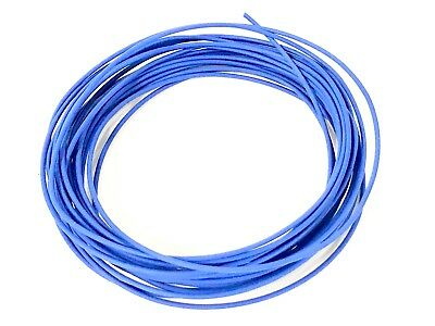 Automotive Wire 12 Awg High Temp Txl Stranded Copper Wire Blue 100 Ft Reel Usa