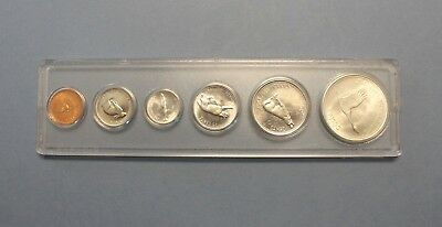 1867 1967 Canada 6 Coin Proof Like Set In Whitman Plastic Holder 4 Are Silver