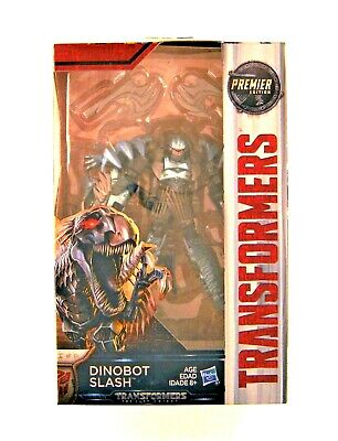 Hasbro Transformers: The Last Knight Premier Edition Deluxe Dinobot Slash Figure