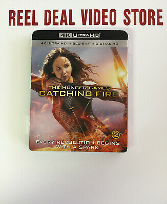 The Hunger Games Catching Fire, 4K Ultra HD, Blu-ray, and Digital, Brand New!!!