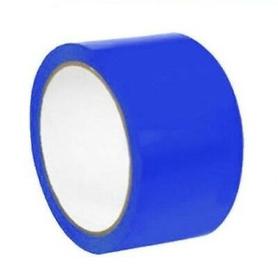 """24 Rolls Blue Color Aisle Marking Tape 2"""" X 36 Yards 7 mil"""