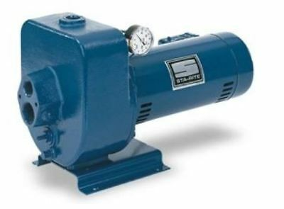 Pentair HMSF-1FL UL Certified Horizontal Jet Pump, 1.5 HP