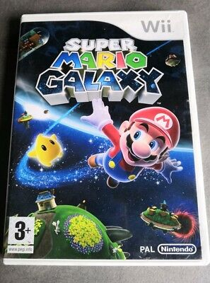 Mario galaxy Wii complet PAL FR Version.