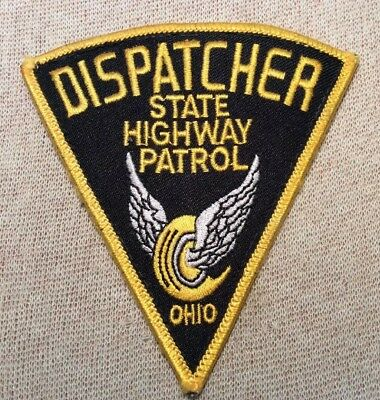 OH Ohio State Highway Patrol Dispatcher Patch